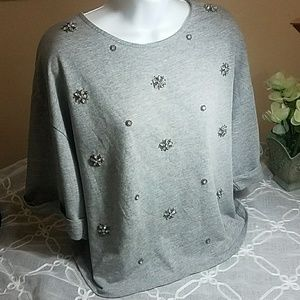 H&M  oversized blouse size small